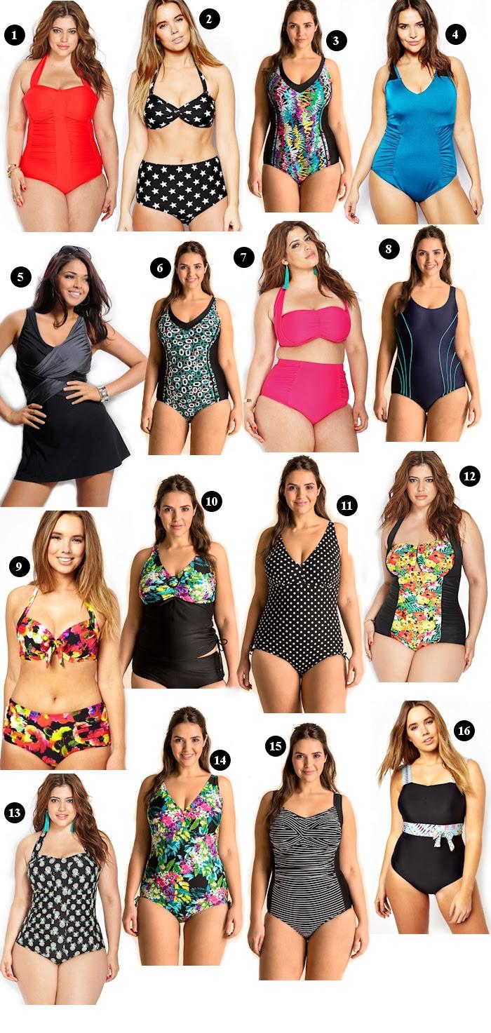 Große Größen Plus Size Fashion Blog trend guide swimsuits