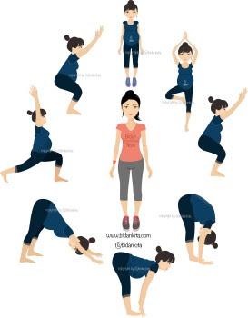 Ingin melahirkan Nyaman dan Lancar tentu Bisa  Tips melakukan Prenatal Gentle Yoga di RUMAH