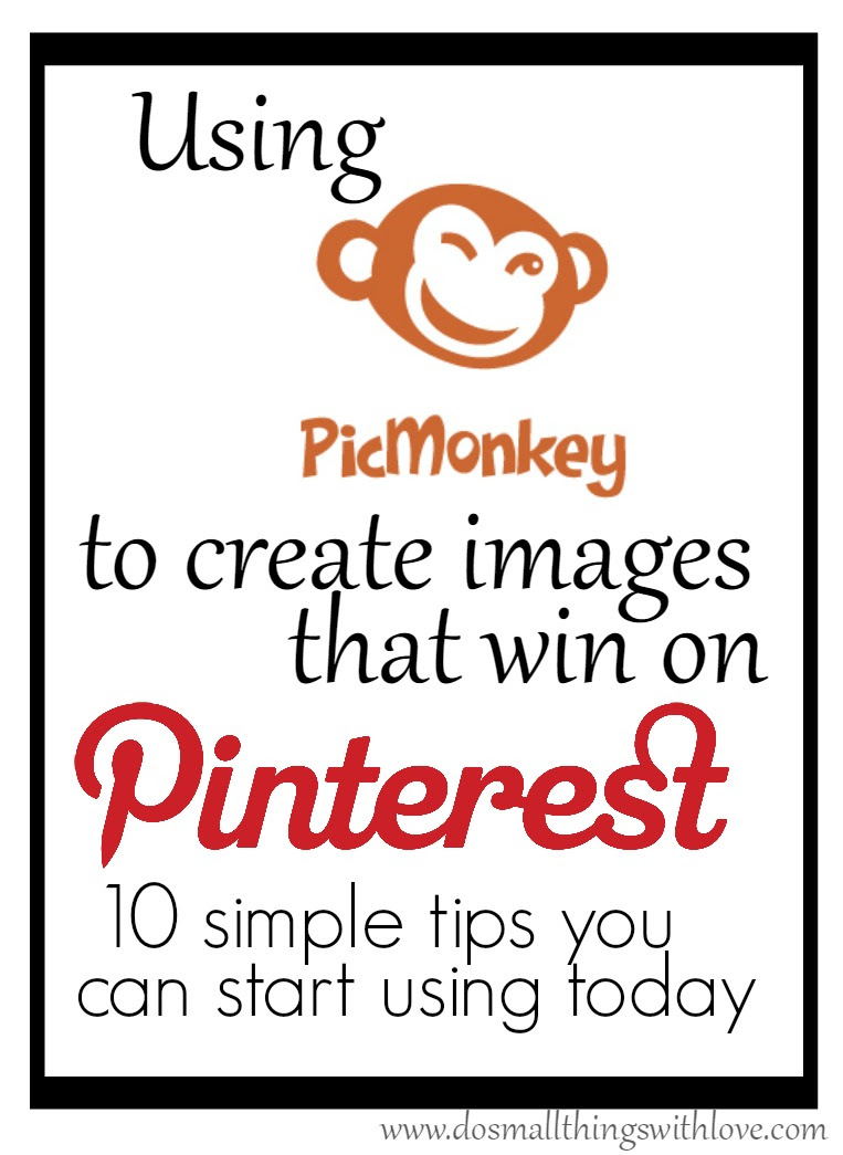 using pic monkey to create images that win on pinterest