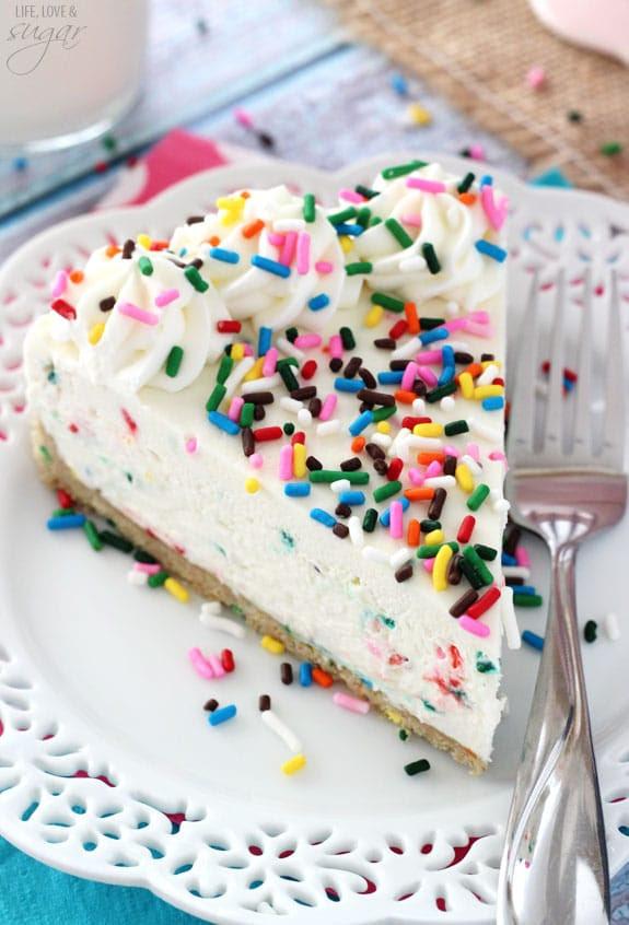 Nobakebirthday Cake Protein Bites Recipe Healthy