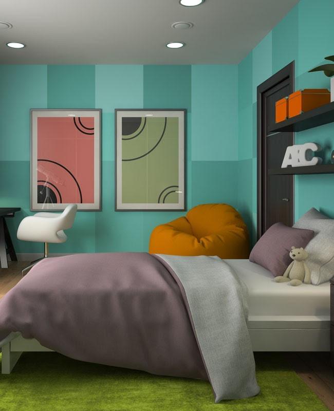 82+ Gambar Desain Kamar Tidur Oren HD Paling Keren Download Gratis