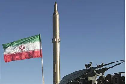 Iranian ballistic missile (file)