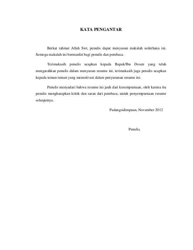 Contoh Kata Pengantar Bahasa Melayu Contoh O