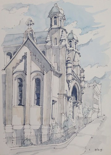 All Saints Episcopal Church by James Anzalone