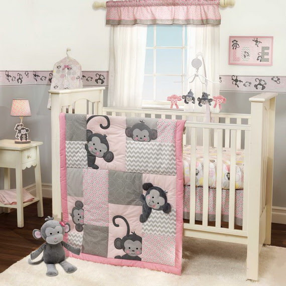 Monkey Baby Crib Bedding Theme and Design Ideas | Family Holiday