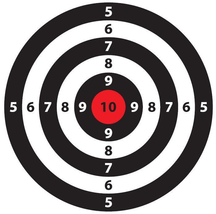 1000+ images about printable targets on Pinterest   Pistols, Deer ...