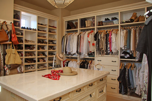 Landmark Builders - Custom Home Builder mediterranean closet