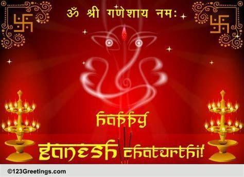 Shri Ganeshaya Namah! Free Ganesh Chaturthi eCards