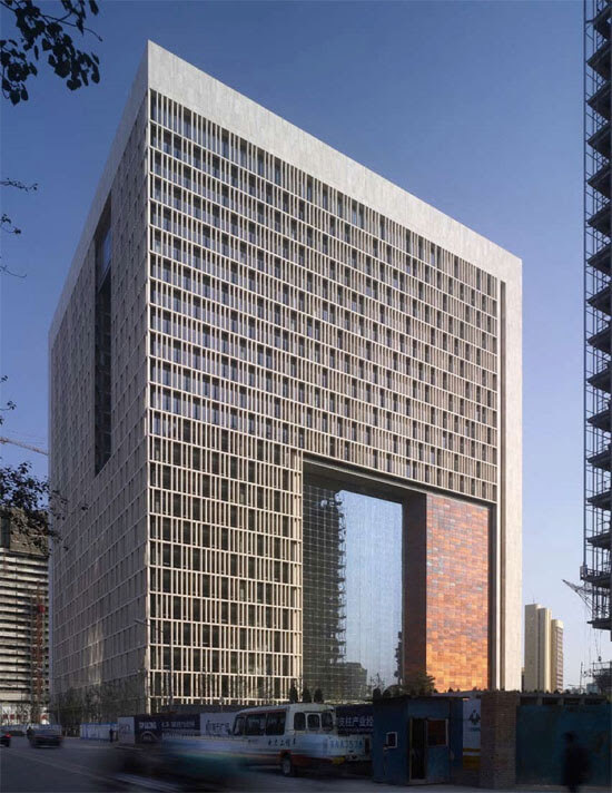 New Beijing Poly Plaza by SOM 02 14 Futuristic Building Designs in China