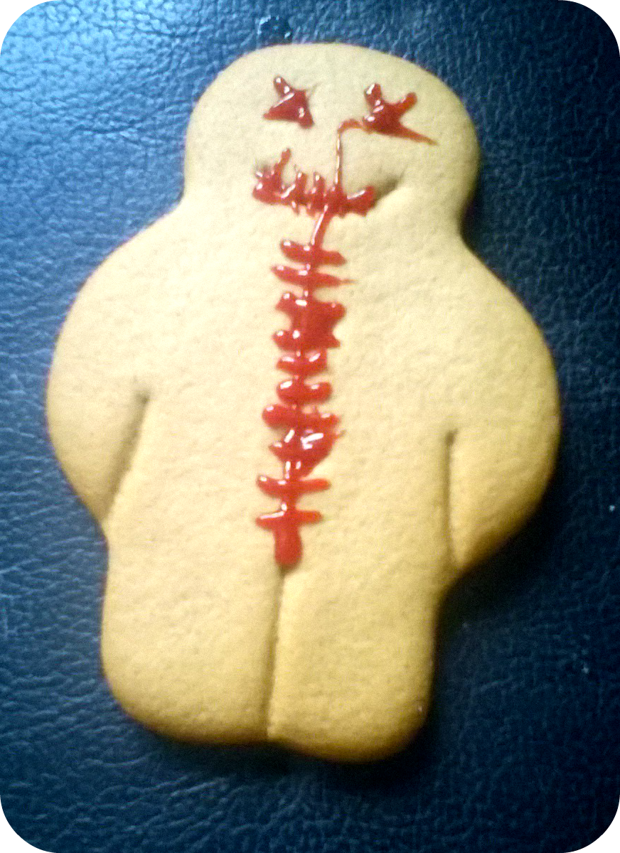 gingerbread cadaver