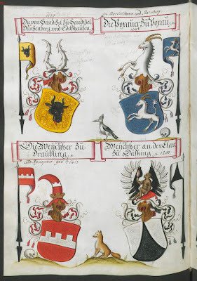 escutcheons from wappenbuch