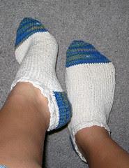 Sock Scrap Anklets