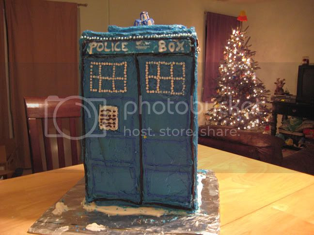 Gingerbread TARDIS