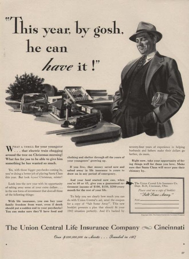 Vintage Money, Insurance and Banking Ads of the 1940s ...