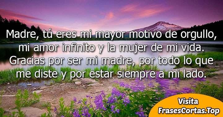 Frases Para Mama Cortas Bonitas De Amor Feliz Dia De La Madre