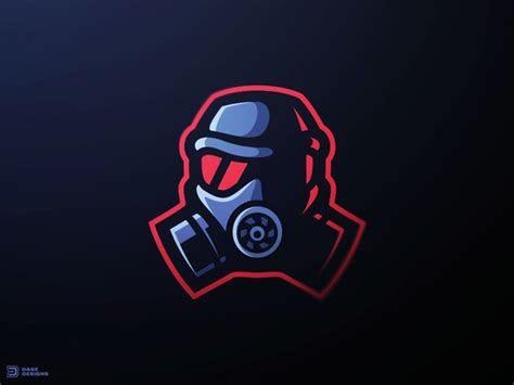 gas mask esports logo sports logos logo keren desain