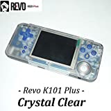 REVO K101 Plus「カラー:クリスタルクリア」GBA互換機本体 / GBAロムカートリッジが使えてAV出力ができる! ゲームボーイアドバンス互換機本体 GAMEBANK-web.comオリジナル[1171] [並行輸入品]