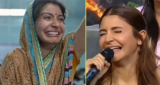 Anushka recreated crying face meme from Sui Dhaaga, Netizens are going LOL