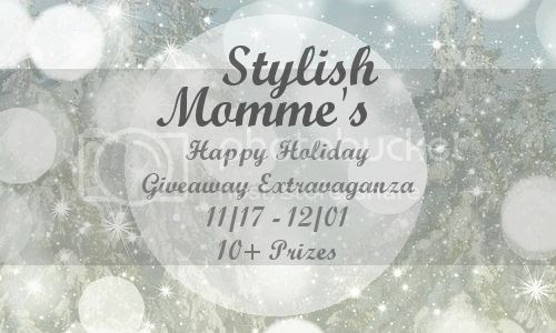 Stylish Momme's Happy Holidays Giveaway Extravaganza 11/17-12/01, 10+ Prizes