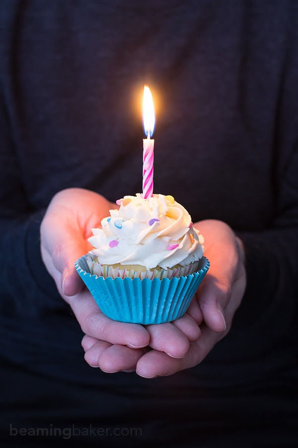 Resultado de imagen de birthday cupcake