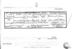 Edward Ainscough Marriage1881