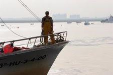 Barco pesquero en Andalucía