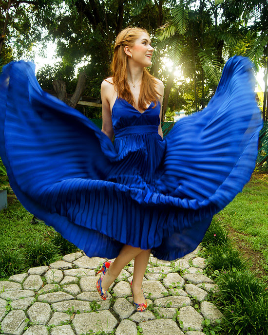 Pleated dress by The Joy of Fashion (5)