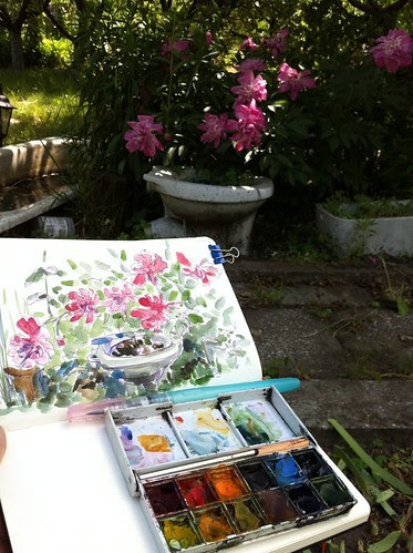 Drawing Garden Decor by apple-pine