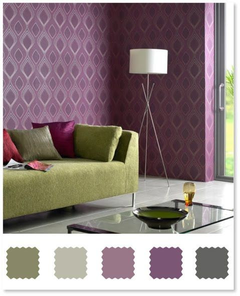 plum and olive, color ideas for master bedroom