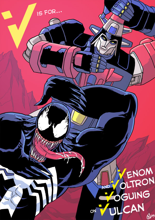 V is for... Venom and Voltron Voguing on Vulcan