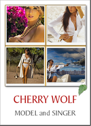 CHERRY WOLF - Model and Singer