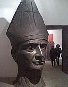 La scultura di San Gennaro di Lello Esposito