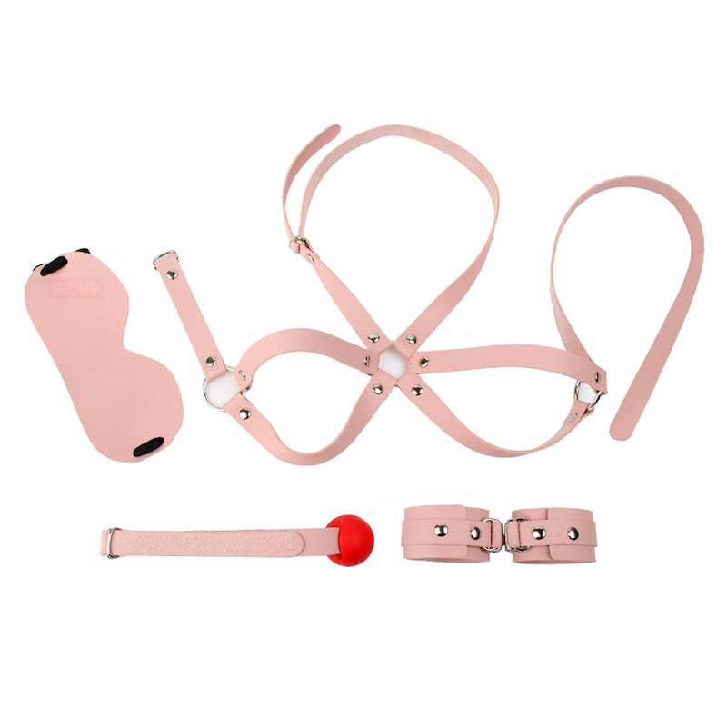 Get  Female Alternative Passion Apparatus Sex Toys Bisexual Fetish Goggles Muffs Handcuffs Torture Set s