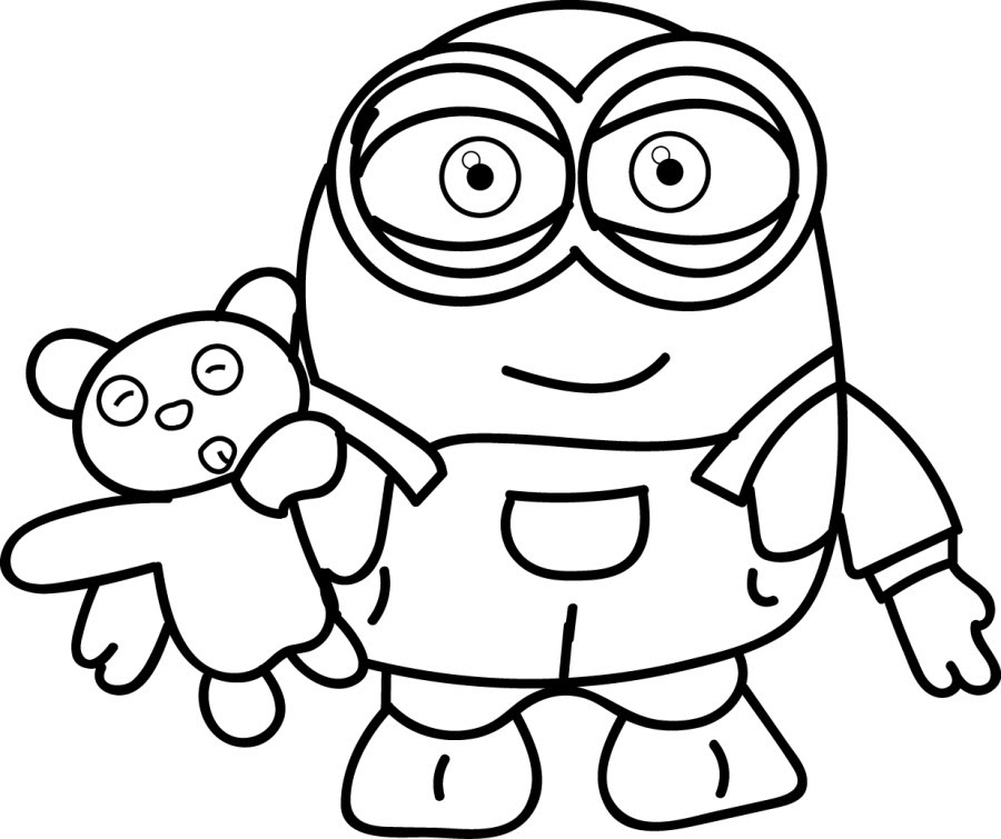 Minion Coloring Pages Best Coloring Pages For Kids Coloring Pages