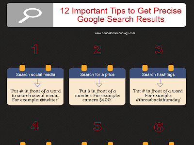 Important Google Search Tips for Teachers and Students