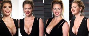 Kate Upton Colosal En Los Vanity Fair Oscar Party 2016