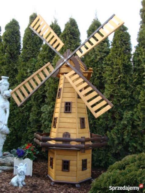 wiatrak ogrodowy drewniany tczew sprzedajemypl
