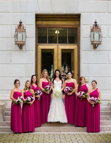 Downtown Charleston City Wedding   Charleston WV   Pink