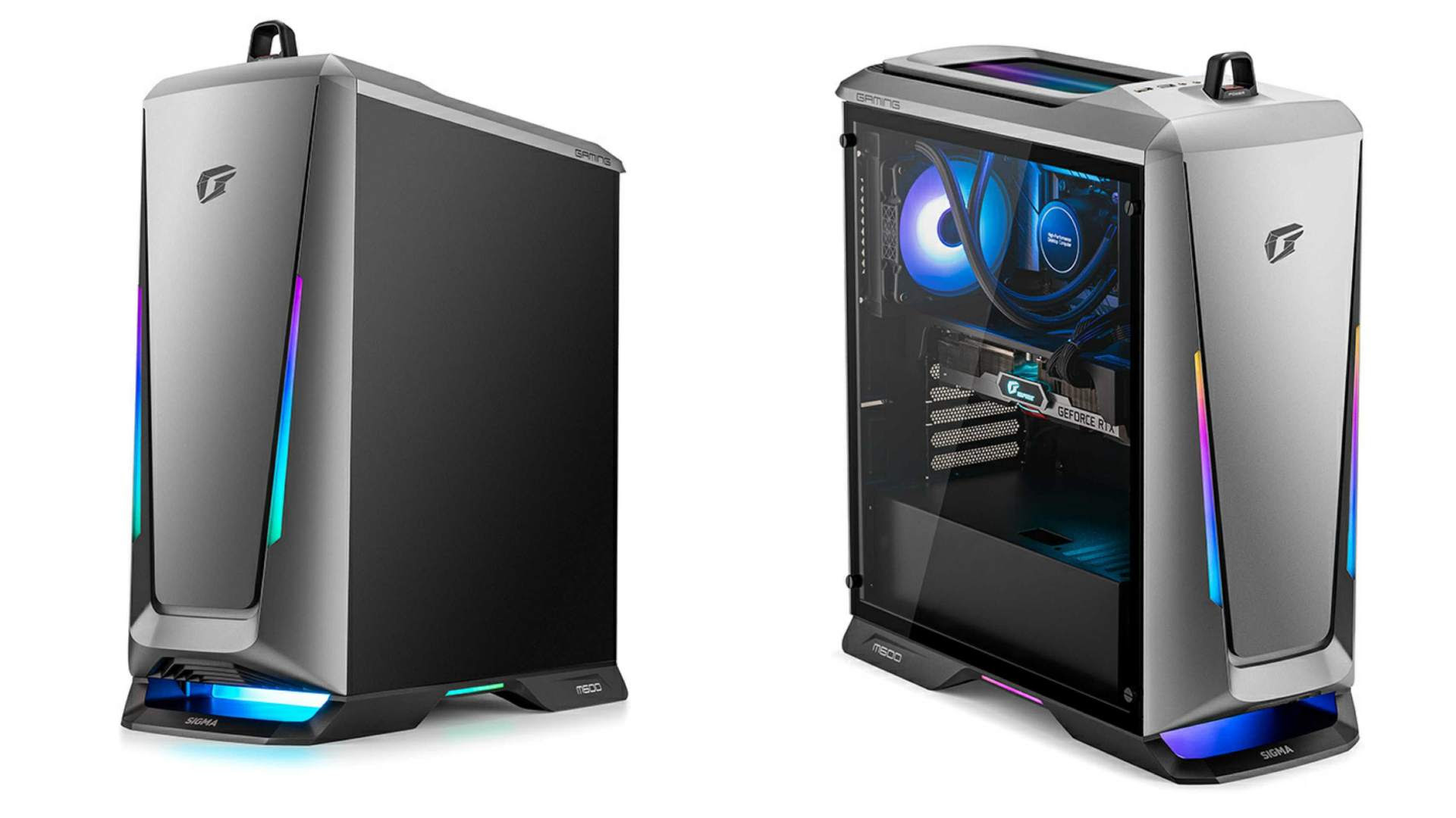 The iGame M600 Mirage features more than 70 individually configurable RGB LEDs. Image: Colorful