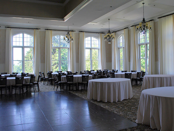Ballroom in the Mansion at the Cranwell Resort, Spa, and Golf Club