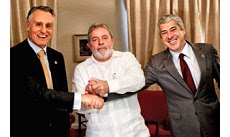Cavaco, Lula, Sócrates