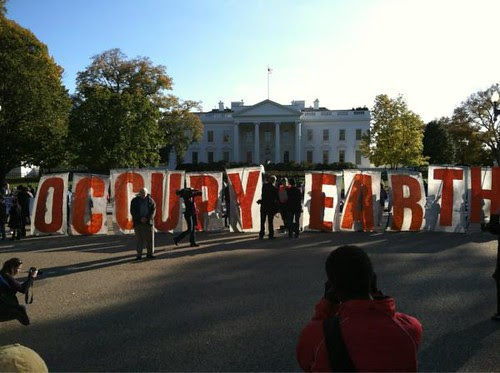 occupy earth by jim leftwich