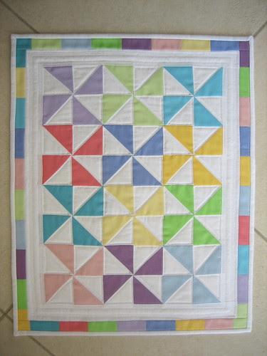 Plain Pastel Pinwheels