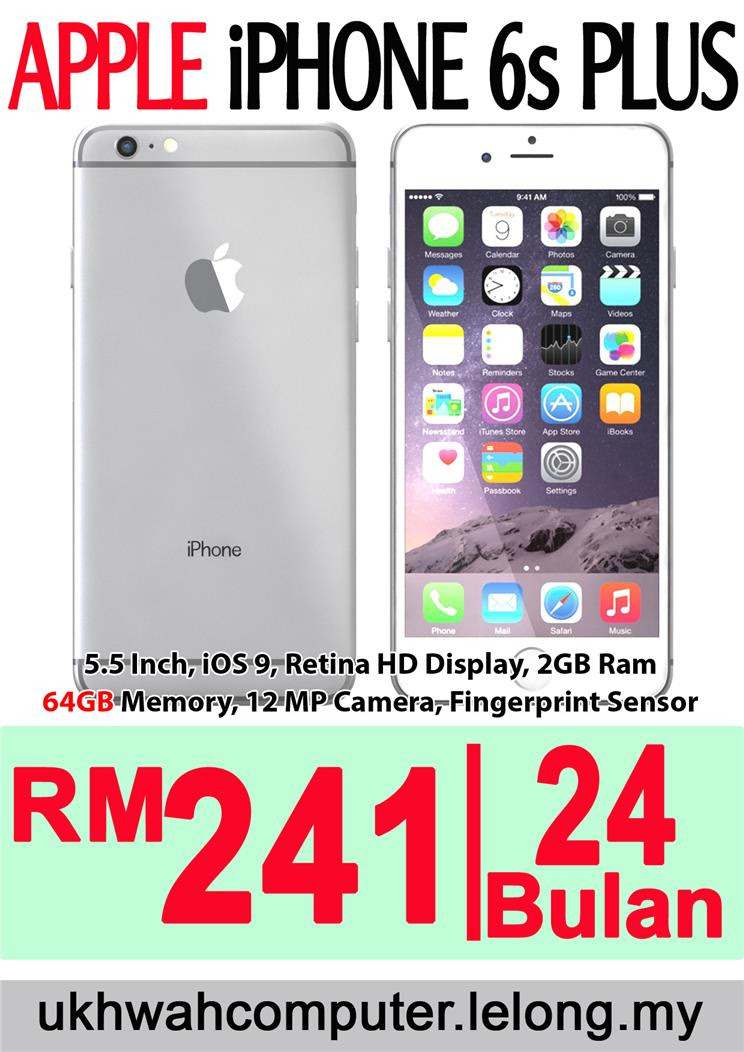 Apple iPhone 6S Plus 64GB HARGA ANSUR (end 3 5 2016 2  ef1180fa74