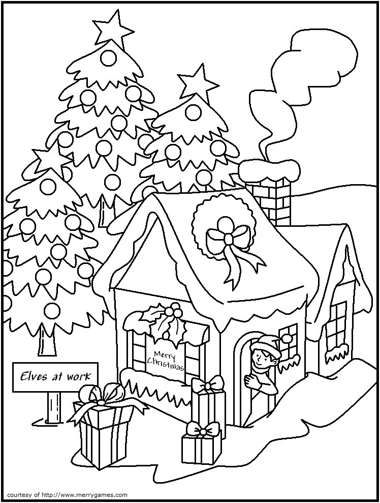 Printable Christmas Elf Coloring Pages at GetColorings.com ...