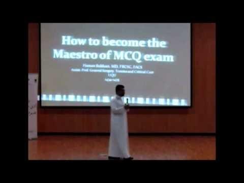محاضرات عن طريقة حل اسئلة ال mcq وكتابة السيرة الذاتية ..!