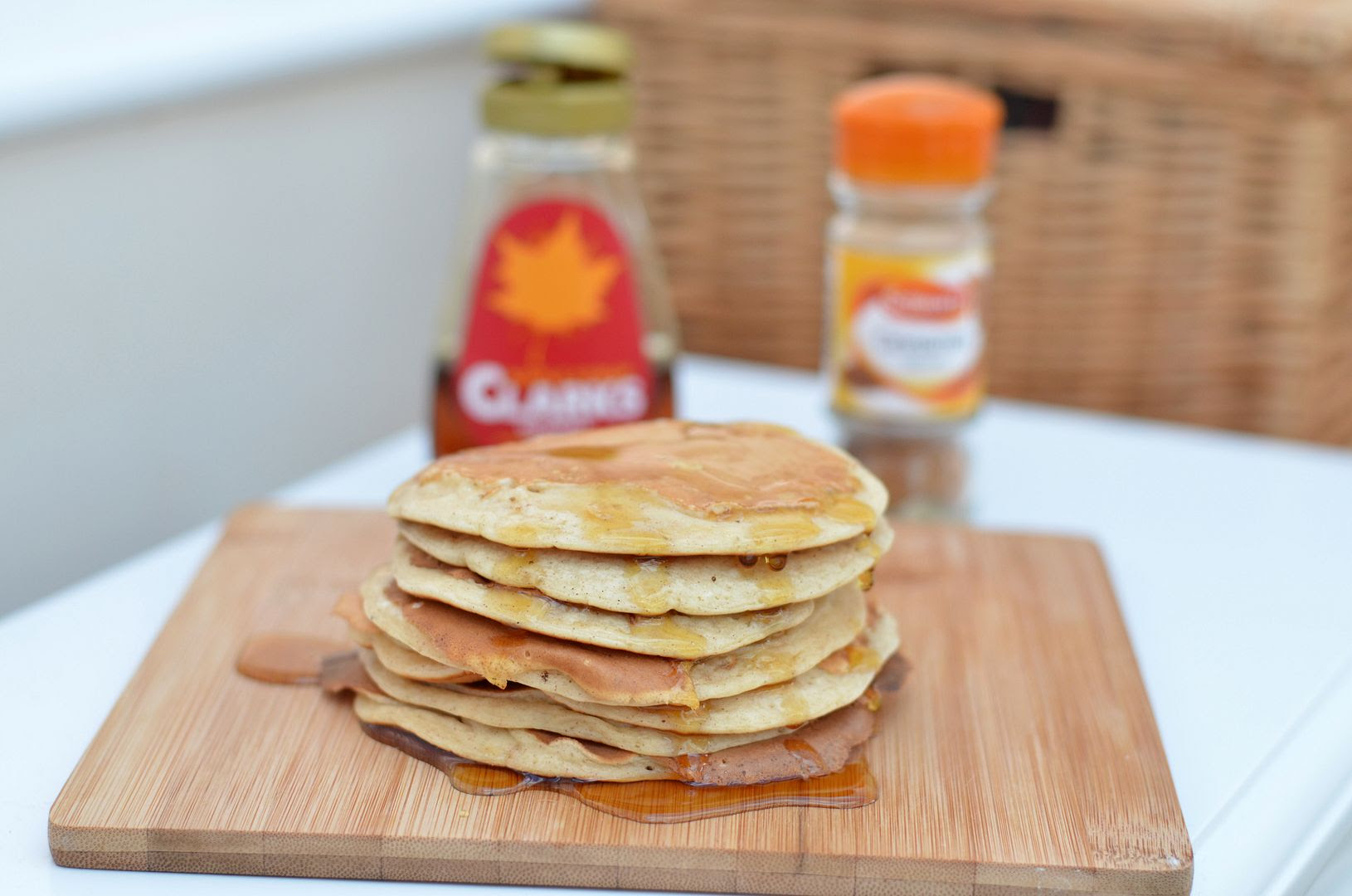 Maple Cinnamon Pancakes