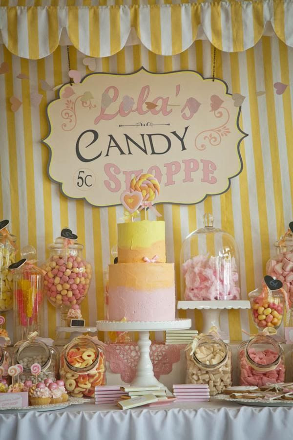 Candy Shoppe party
