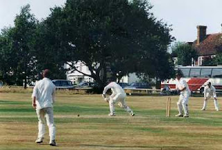 a village cricket match