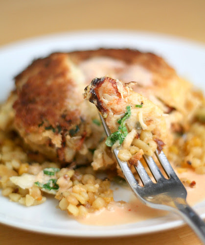 Ginger Lime Dungeness Crabcake